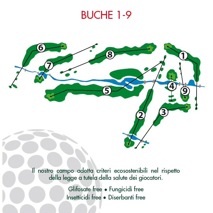 buche 1-9
